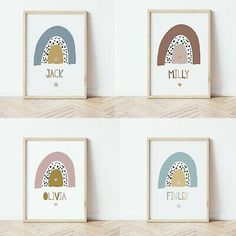 Letter Wall Art, Name Wall Art, Boy Wall Art, Nursery Wall Art, Nursery Ideas, Rainbow Baby, Rainbow Nursery, Rainbow Print, Nursery Prints