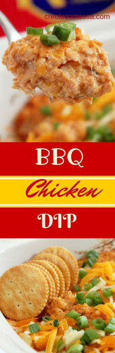 BBQ Chicken Dip-Creole Contessa