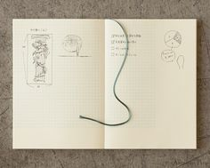 Midori MD 10th Anniversary Notebook A5 - Grid with Margin