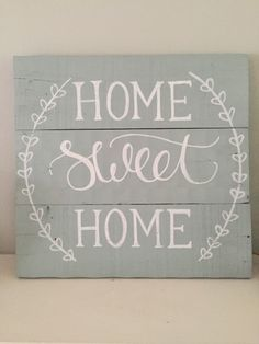 Rustic Home Decor Sweet Sign Pallet Hand Painted Customizable