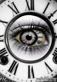 oog voor de tijd