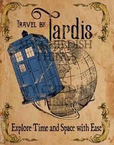Doctor Who Tardis Vi