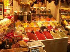 Bazar de las Especias #estambul #turquia