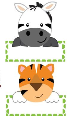 Summer Bulletin Boards For Daycare Discover Jungle Complete Decor Pack Editable name labels that are so cute! From our jungle collection classroom decor. Jungle Theme Classroom, Jungle Theme Parties, Safari Birthday Party, Jungle Party, Classroom Decor, Safari Thema, Preschool Jungle, Jungle Decorations, Animal Crafts For Kids