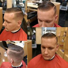 Boom! #ManolosMob #manolosbarbershop #barbersinctv #barbershopconnect #barberstar #barberaddict #showcasebarbers #thefutureisnow #thebarberpost #barbersoul #hairstyles #haircut #hairmoney #hairart #hairdresser #barber #allhair #versitile #alldayhustle #northparkmall @mannythebarber75 Very Short Haircuts, Trendy Haircuts, Haircuts For Men, Slick Hairstyles, Classic Hairstyles, Hairstyles Haircuts, Brylcreem Hairstyles, Short Hair Cuts, Short Hair Styles