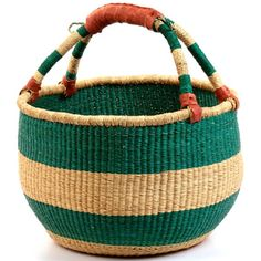 African basket. I am obsessed with these!!!