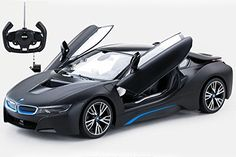 Hobby RC Cars - Radio Control Model Car 114 BMW i8 Authentic Body Styling wOpen Doors RC Vehicles Black >>> Visit the image link more details.