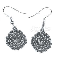 carnation earrings - Google Search