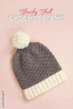 This free crochet beanie pattern has both written instructions and photos to help you finish your own beanie with ease - learn how today!