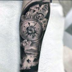 60 Crystal Tattoo Designs For Men