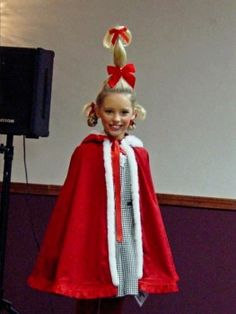 How to cindy lou who costume pinterest grinch costumes and dr suess hair lol diy whoville costumescostume halloweendiy solutioingenieria Choice Image