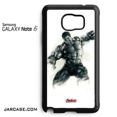 The Hulk & the Avenger Phone case for samsung galaxy note 5 and another devices