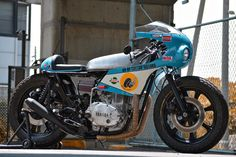 Raw: A custom Yamaha XS650 by An-Bu Motorcycles of Japan.