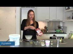 Celestine laver proteinromkugler