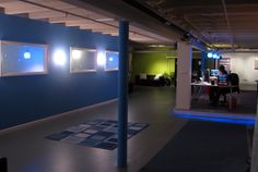 Check out our awesome open floor-plan here at the #WebpageFX office!