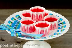 strawberry shortcake jello shots? perfect for the girlie get together this friday! yay!