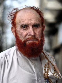 **Afghanistan  I wonder what his family roots are?  The red hair is very interesting.