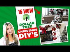 15 HIGH END CHRISTMAS DOLLAR TREE DIY's🎄 2020!!! - YouTube