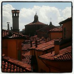 Bologna rooftops - Instagram by @AsgeirPedersen