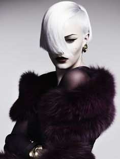 British Hairdressing Awards 2011 / British Hairdesser of the Year / Akin Konizi - HOB Salons, via NoYouShutUp