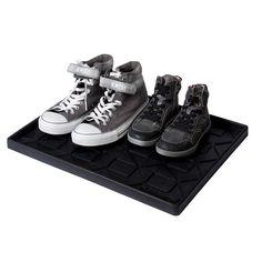 plateaux (paillassons) range bottes et chaussures en caoutchouc naturel www.lapadd.com