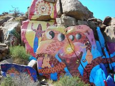 Roy Purcell Murals in Chloride Arizona