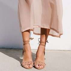 Crushing on the Loeffler Randall 'Elayna' Ankle-Tie Sandals. Pairs perfectly with a semi-sheer Summer Dress or cutoff denim.  #MyShopStyle