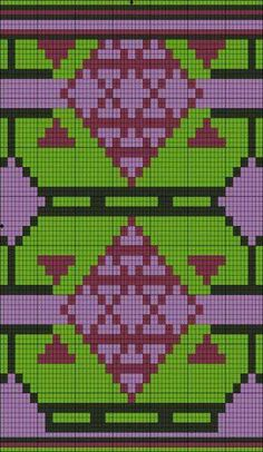 Free Crochet Bag Patterns Part 22 - Beautiful Crochet Patterns and Knitting Patterns Tapestry Crochet Patterns, Crochet Stitches Patterns, Weaving Patterns, Knitting Patterns, Bag Patterns, Free Crochet Bag, Crochet Purses, Crochet Chart, Mochila Crochet