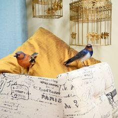 Os pássaros - como as casas - querem-se livres.   A Loja do Gato Preto   #alojadogatopreto   #shoponline