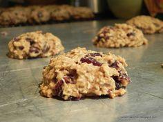 Finding Joy in My Kitchen: {Healthy} Soft-Baked Chocolate Cherry Oatmeal Cookies