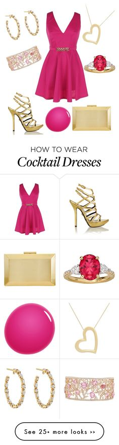 """Cocktail Hour Outfit 65 - Christine"" by office-girl on Polyvore"