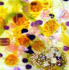Flores, 16x16, Acrylic on Panel
