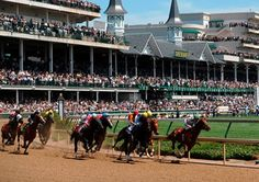 Kentucky Derby Museum, Louisville, Kentucky, a suggested stop for those re-enacting the Lewis & Clark expedition. The grandson of William Clark founded Churchill Downs and the Kentucky Derby. Kentucky Derby, My Old Kentucky Home, Kentucky Downs, Churchill Downs, Derby Time, Derby Day, The Places Youll Go, Places To See, Louisville City