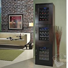 Trilogy Wine Cellar Espresso (Right Hand Hinged Door) at Wine Enthusiast - $1495.00