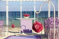 детали и аксессуары для свадьбы на пляже