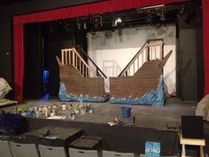 "the little mermaid jr set | my Set for ""Little Mermaid Jr."" the ship (mobile)"