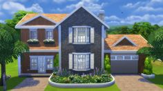 Totally Sims: Roseberry House • Sims 4 Downloads Check more at http://sims4downloads.net/totally-sims-roseberry-house/