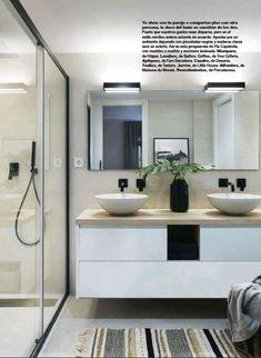 Nos encanta cómo ha quedado este proyecto de Pia Capdevila con nuestros apliques Double Vanity, Bathroom, Instagram, Color, Quartos, Interiors, Washroom, Full Bath, Colour