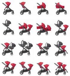 La poussette Baby Jogger City Select est la solution idéale si vous prévoyez d'agrandir la famille, car cette poussette double ou simple vous offre plus de 16 configurations possibles. Elle est parfaite pour 2 enfants d'âges différents !