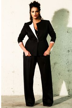 Plus size fashion. Oh I really think this is cute!