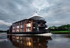 Cruzeiro inovador para conhecer a Amazônia de perto