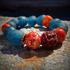 Fire and Ice Bracelet from The Earth Collection by FeelingCharmed, $25.00