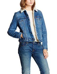 Levi's Damen Jacke Vintage Sherpa, Blau (Movin Shakin 1), ̶1̶̶3̶̶0̶̶,̶̶0̶̶0̶̶€̶ NUR 88,01€ ! #SALE