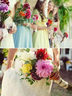 prettiest bridal flowers ever.