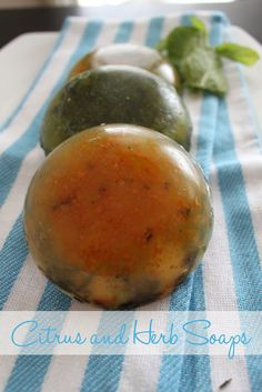 eat.sleep.MAKE.: CRAFT: Citrus and Herb Soaps
