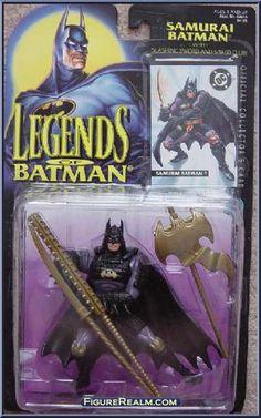 Kenner Legends of Batman Series 2 Batman (Samurai) Figure 1995