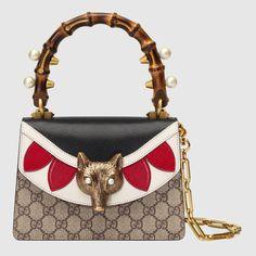 Broche GG Supreme mini bag