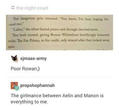 The real thing is that Rowan calls them ladies Throne Of Glass Quotes, Throne Of Glass Books, Throne Of Glass Series, Sara J Maas, Aelin Ashryver Galathynius, Crown Of Midnight, Empire Of Storms, Sarah J Maas Books, Reading Material