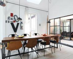 #interior #decor #styling #dining #modern #chair #pendant #lamp