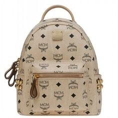 MCM Backpack Worldwide Mini 2014 Beige. JE Law 7e066b68dc000
